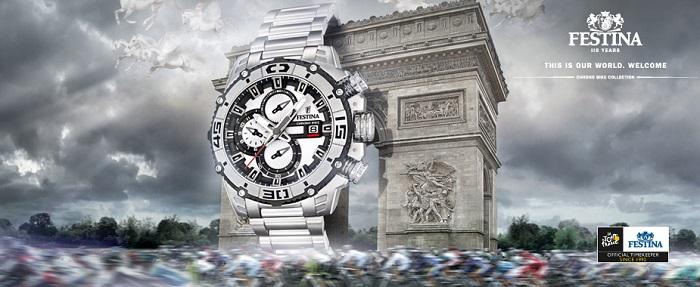 bannière montre Festina